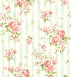 Romance Coordinates by Eleanor Burns - Christine - Aqua Flower Patterns, Print Patterns, Pattern Flower, Flower Wallpaper, Wallpaper Backgrounds, Floral Printables, Miniature, Pretty Wallpapers, Printable Fabric