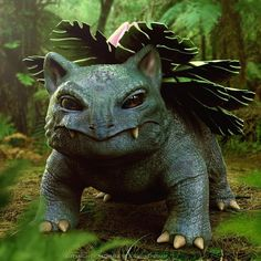 Something emerges from the undergrowth, it's Ivysaur! Thanks… - @joshdunlopconceptartist