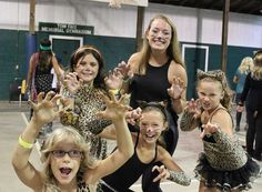 Dressing up at camp is just the best! Check out this group of Cheetah girls who made their appearance at Camp Friendship this summer!