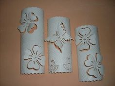 Pvc Pvc Pipe Crafts, Pvc Pipe Projects, Diy And Crafts, Diy Paper, Paper Art, Paper Crafts, Pvc Furniture, Pvc Paint, Pyrography Patterns