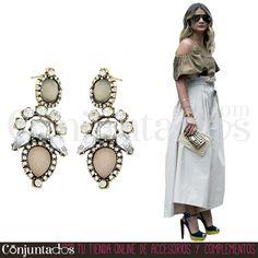 Pendientes Jimena tonos pastel ★ 12'95 € ★ Cómpralos en https://www.conjuntados.com/es/pendientes/pendientes-largos/pendientes-jimena-en-tonos-pastel-con-strass.html ★ #pendientes #earrings #conjuntados #conjuntada #joyitas #lowcost #jewelry #bisutería #bijoux #accesorios #complementos #moda #eventos #bodas #invitadaperfecta #perfectguest #fashion #fashionadicct #fashionblogger #blogger #picoftheday #outfit #estilo #style #streetstyle #spain #GustosParaTodas #ParaTodosLosGustos