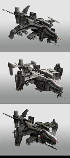 Gunships by StTheo on DeviantArt