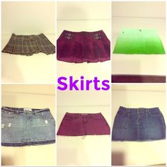Skirts! Make offer! Spring is here! Skirts! Make offer! Spring is here! Summer is around the corner! Skirts