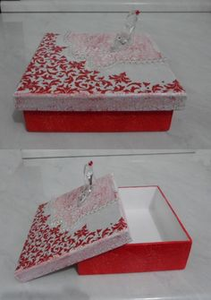 """caixa MDF """"Sapatinho de cristal"""""""