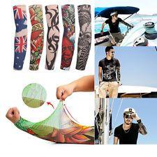 6 Pcs/Set Fake Tattoo Sleeve Cloth Arm Art Tribal Design
