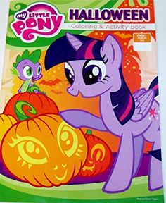 My Little Pony Friendship is Magic Holiday Coloring & Activity Book ~ Halloween (Twilight Sparkle and Spike Cover; Contains 32 tear and share pages. Halloween Toys, Color Activities, My Little Pony Friendship, Christmas Toys, Twilight Sparkle, Geek Gifts, Shopkins, Scary Movies, Ponies