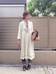 刺繍が可愛いワンピお気に入り😍 毎日公園。 暑い〜😵☀️💦 ❤️セーブフォローありがとうござい