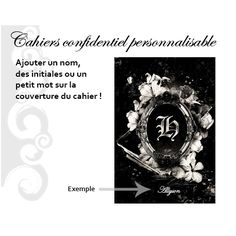 Cahier personnalisable