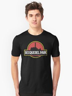'Chernobyl Becquerell park grunge with black background' T-Shirt by helgema Background S, Black Backgrounds, Tshirt Colors, Female Models, Chiffon Tops, Donald Trump, Classic T Shirts, Tees, Mens Tops