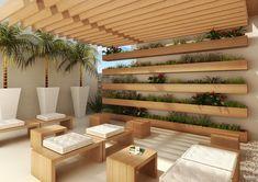 ↗ 80 Patio Ideas To Beautify Your Home On A Budget 33 - hem. Backyard Seating, Backyard Garden Design, Modern Backyard, Small Garden Design, Backyard Landscaping, Garden Modern, Home Garden Design, Rooftop Terrace Design, Outdoor Patio Designs
