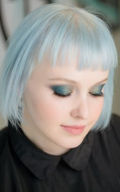 Petrol eyes… emerald and shimmer. Achieve this look with Butter London's Smoke Stick in Flash Fusion, found at Ulta Beauty.