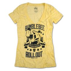 Transformers Bumblebee Roll Out Ladies T-Shirt