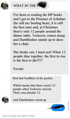 Harry Potter fan has come up with a theory that would make one more of Trelawney s prophecies correct. A clever Harry Potter fan has come up with a theory that would make one more of Trelawneys prophecies correct. Harry Potter Fan Theories, Harry Potter Sad, Harry Potter Marauders, Harry Potter Tumblr Funny, Best Harry Potter Fanfiction, Headcanon Harry Potter, Mind Blown, Film, Mindfulness