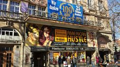 A century-old cinema has a marquee that's been hand painted by the same guyfor over 25 years