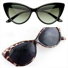 New Trendy 2014 Cat Sunglasses available in Black or Leopard