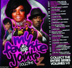My Favorite Joints Vol 2 Old School R&B Classics Mixtape CD - DJ Doggtime