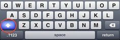 Ipad iphone typing tips and shortcuts