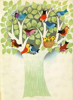 Mary Blair: Vintage  illustration