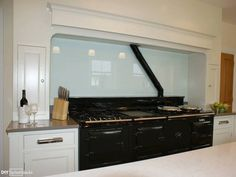Dulux-First Frost-aga-glass-splashback