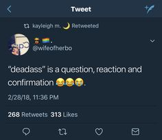 Crazy cause you really be hearing the tone to signify which one it is tho Real Talk Quotes, Fact Quotes, Mood Quotes, True Quotes, Funny Quotes, Qoutes, Funny Relatable Memes, Funny Facts, Funny Tweets