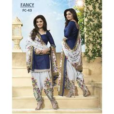 Diwali Dhamaka Offer Women\'s Unstitched Polyester Dress Material