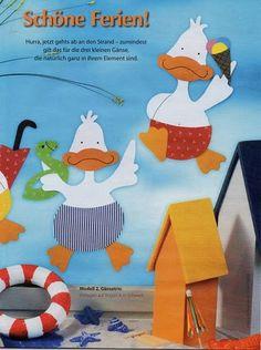 Fensterbilder kreativ Mit Spas in den Sommer - jana rakovska - Λευκώματα Iστού…
