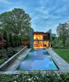 Washington DC Residence by Travis Price Architects.