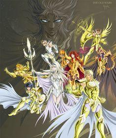 Mythological gold Saint