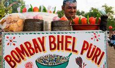 Best street food in Amchi Mumbai Bombay Bhel puri @versova beach Courtsey: Mumbai Chatore