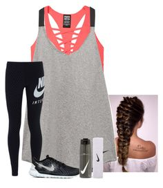 """Workin out"" by amaya-leigh ❤ liked on Polyvore featuring NIKE"