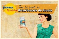 Vous connaissez le Bicarbonate de Soude mais vous ne saviez pas qu'il pouvait absorber les odeurs, faire briller la baignoire ...Cuisine, salle de bains, b