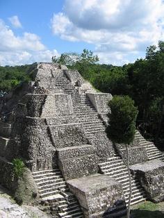 Yaxha, Guatemala, largest temple
