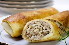 Thanksgiving Leftover Rice Stuffing Egg Rolls from Cooking Hawaiian Style Rice Salad Recipes, Egg Roll Recipes, Ham Recipes, Asian Recipes, Ethnic Recipes, Thanksgiving Leftover Recipes, Thanksgiving Leftovers, Thanksgiving Food, Leftover Rice
