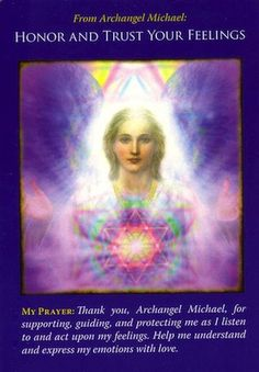 Archangel Michael urges you to look inward and listen, for this card is a sign that your feelings are accurately tuned in to the truth... (click image to keep reading)