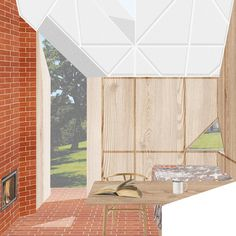 ROA - Rural Office for Architecture Creative Illustration, Presentation, Graphic Design, Drawings, Projects, House, Architecture Sketches, Furniture, Home Decor
