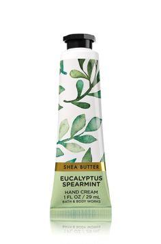 Eucalyptus Spearmint Hand Cream - Inspired by a morning walk in the crisp outdoors, fresh mint, crisp eucalyptus & sweet clary sage soothe the senses