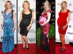 Now that she's welcomed daughter Rainbow, take a look back at Holly Madison's best red carpet maternity looks.
