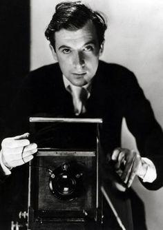 Cecil Beaton photographed by Erich Salomon in Paris, 1936.