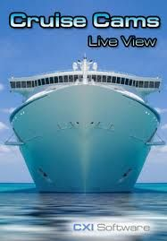 Can't afford a cruise?No worries Skipper, cruise Ship Cams lets you log in to a cruise ship aft and Bridge cameras - Live! get it from GR!