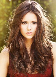 8bf640e4bb2 Nina Dobrev - love her hair and make up
