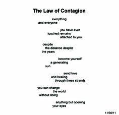The Law of Contagion ~ Quantum Meditation #2204