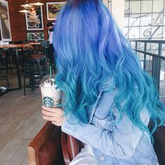 Asian bangs hairstyle hairstyles for curly hair,women's hairstyles cane roll hair,funky hairstyles for mens short hair hair colors for long brown hair. Hair Dye Colors, Hair Color Blue, Cool Hair Color, Bright Hair, Pastel Hair, Ombre Hair, Blonde Hair, Colorful Hair, Lilac Hair