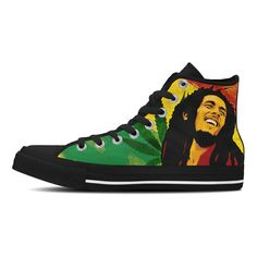 Custom Bob Marley Canvas Shoes, Bags or Watches