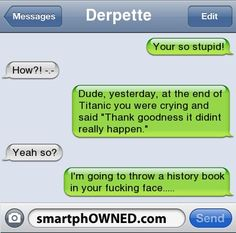 Stupid Ppl - - Autocorrect Fails and Funny Text Messages - SmartphOWNED