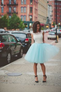 Tulle skirt adult tutu bridesmaid tulle skirt aqua by shopVmarie - This one in…