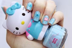 Hello Kitty. Get on my nails!