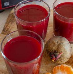 Suc de sfeclă roșie cu morcov și mandarine | Bucate Aromate Healthy Juices, Healthy Smoothies, Healthy Drinks, Smoothie Recipes, Low Carb Recipes, Diet Recipes, Cooking Recipes, Healthy Recipes, Easy Recipes