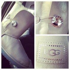Diamond button uggs