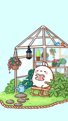 Wallpaper Doodle, Iphone Background Wallpaper, Kawaii Wallpaper, Chibi Kawaii, Cute Chibi, Kawaii Art, Cute Kawaii Drawings, Cute Animal Drawings, Pikachu Pikachu
