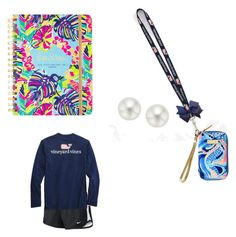 """My favorite set ever"" by alg5017 on Polyvore featuring Vineyard Vines, Lilly Pulitzer, Pearlyta and NIKE"